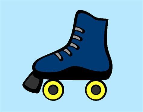 imagenes niños patinando dibujos de patinaje para colorear dibujos net
