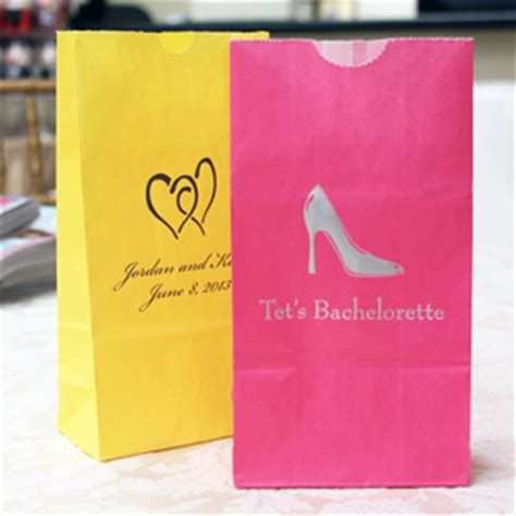 custom bridal shower gift bags personalized bridal shower goodie bags 25 pcs favor bags favor packaging wedding favors