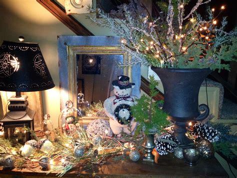 christmas decor ideas entry table christmas decorated