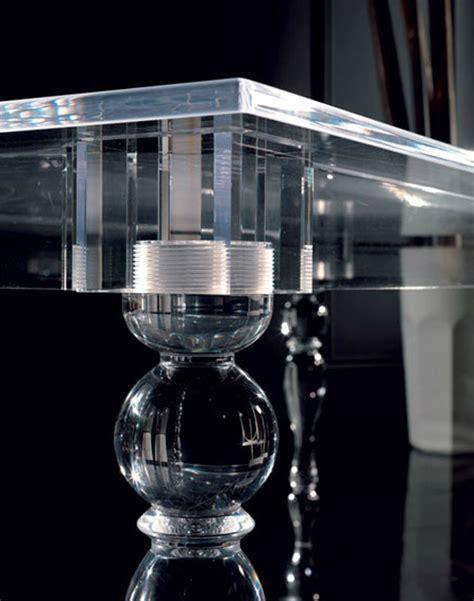 Acryl Esszimmertisch innovatives acryl esstisch design colico design aus