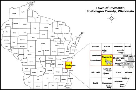 population of plymouth wi plymouth wisconsin map wisconsin map