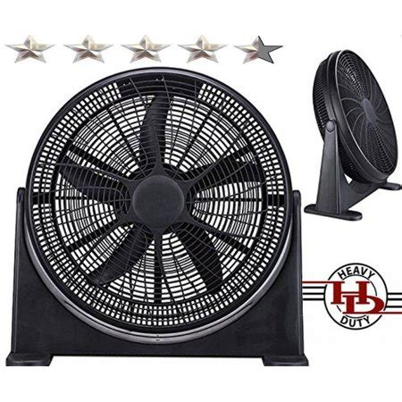 cool air fans walmart 20 quot high velocity home power fan with superior air