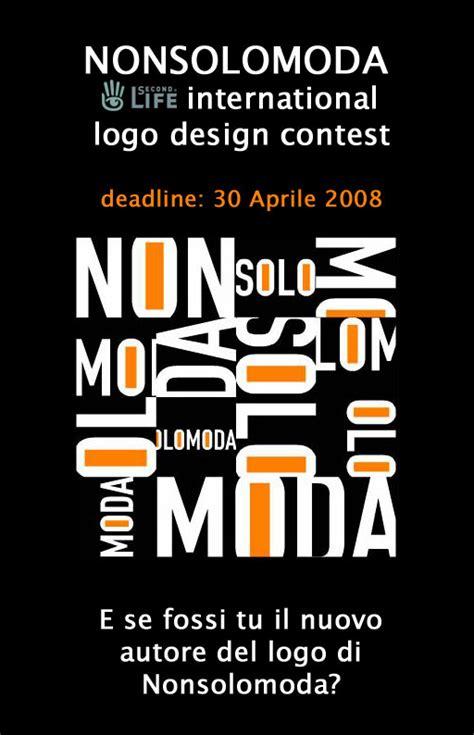 design contest international nonsolomoda international logo design contest l isola