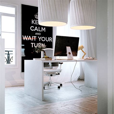 white home office beautiful home offices workspaces