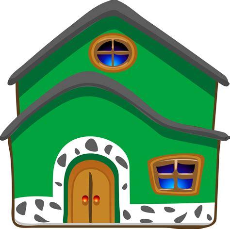 clipart casa gambar kartun rumah rumah modern