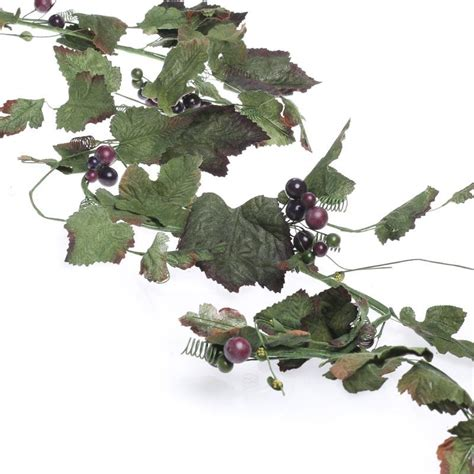 artificial grape leaf garland artificial greenery