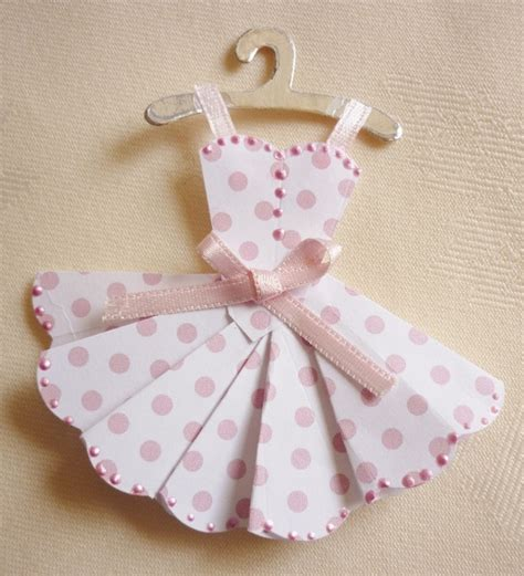 Paper Dress Craft - mini dresses and clothes for cardmaking and