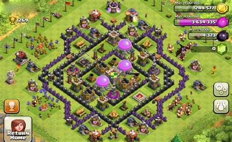 contoh bio clan coc tutuorial coc kumpulan gambar base defensive th 8 coc