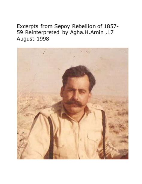 Sepoy Perceptions About Military Effectiveness Of English