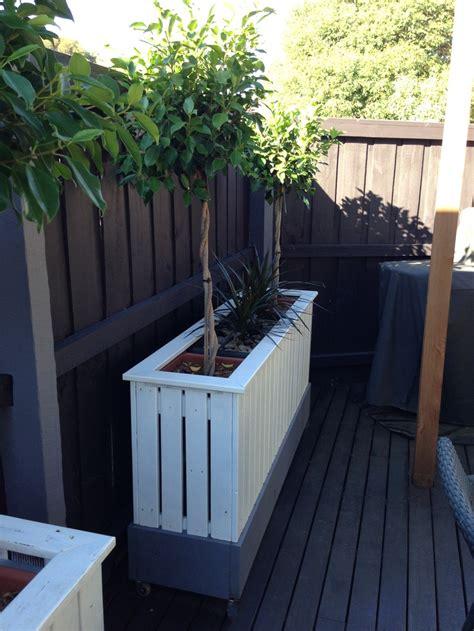 Tree Box Planter by Diy Planter Box Garden Design Trees Diy
