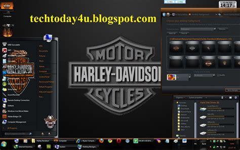 themes for windows 7 harley davidson harley davidson desktop themes windows 7 quilasco