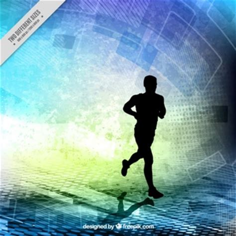 Abstract For Fitness Running 1 sports vectors 7 400 free files in ai eps format