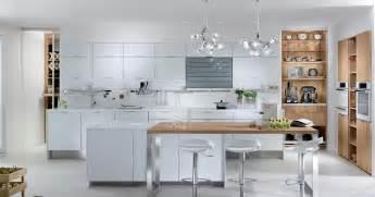 la cuisine blanche eclat de perene