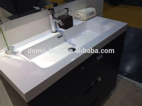 composite bathroom countertops domo composite resin stone wash basin for bathroom vanities long sizes countertops