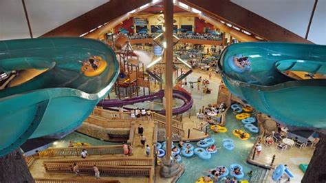 The Wilderness Cabins Wisconsin Dells by Indoor Water Parks Aol Travel News