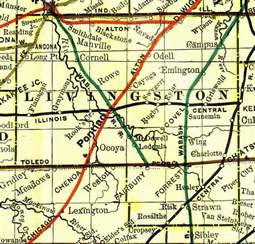 livingston county illinois genealogy vital records