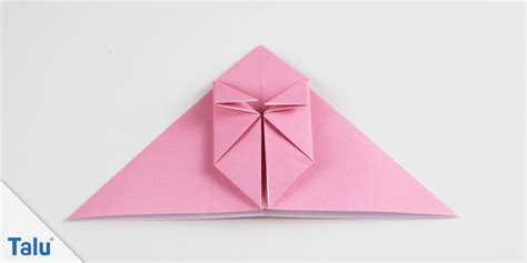 Origami Hase Faltanleitung by Origami Hase Falten Faltanleitung F 252 R Einen Papierhase