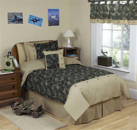 boys camo bedroom sweet jojo designs discount cheap green camo army kid teen