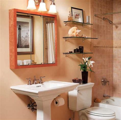 Storage Ideas For Small Bathrooms by Ideas For Small Bathroom Storage With Wall Cabinet Mirror