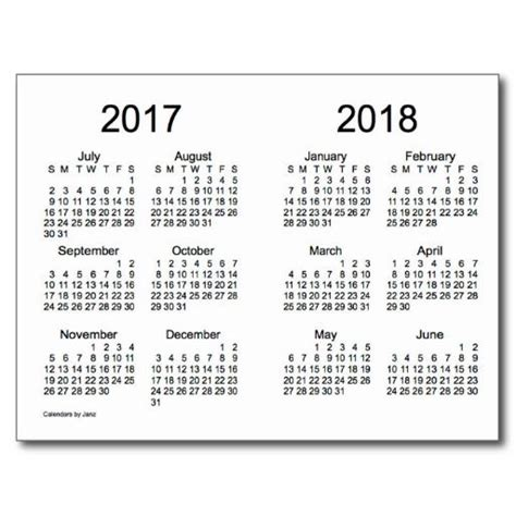 printable year calendar 2017 and 2018 7 best images of yearly calendar printable 2016 2017 2018