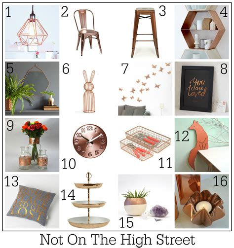 lust list copper crush home decor design lovers blog 100 ways to use copper in your home fresh design blog
