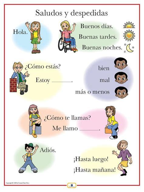 printable area en espanol 25 trending spanish greetings ideas on pinterest