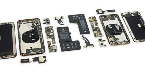 ifixit teardown of iphone xs and iphone xs max finds a few differences from the x 9to5mac