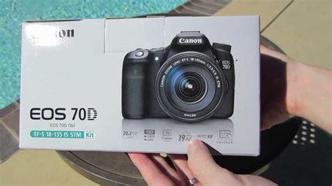 Canon 70d Di Indonesia canon 70d unboxing doovi