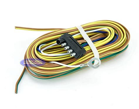 4 flat trailer light wiring trailer free
