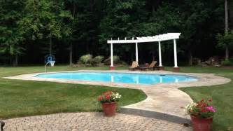 pool in backyard cost how much does a swimming pool cost calculate the hidden