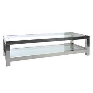 table de salon m 233 tal gloss