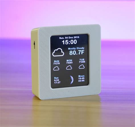 color weather station overview esp8266 wifi weather station with color tft