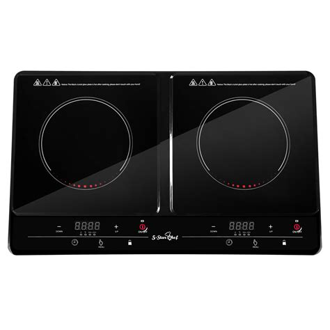kitchen living induction cooktop review home outdoors direct 5 chef induction cooktop portable duo
