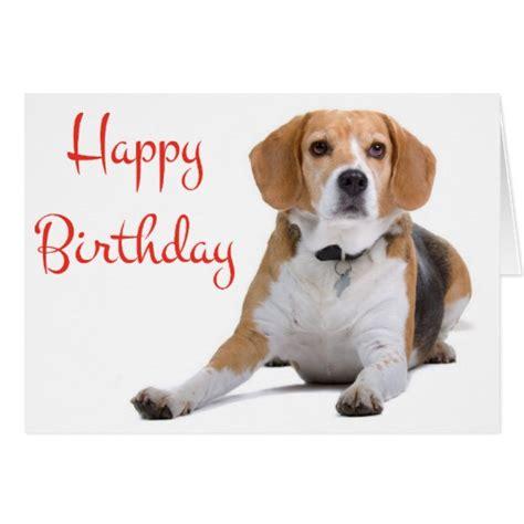 dog themed birthday ecards happy birthday beagle puppy dog greeting card zazzle