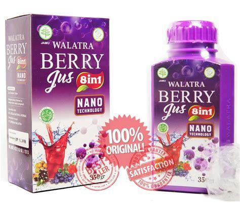Walatra Berry Jus 8 In 1 Orifinal Asli Herbal obat penghancur tumor di paru paru tradisional agen