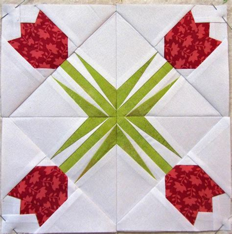 Tulip Quilt Pattern Block by Twinkling Tulip By Aquiltingjewel Quilting Pattern