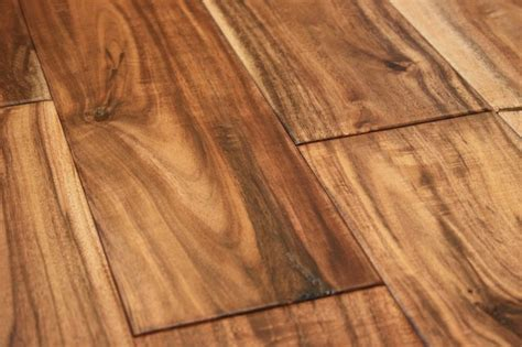 acacia natural 9 16 x 4 3 4 hand scraped small leaf engineered hardwood flooring