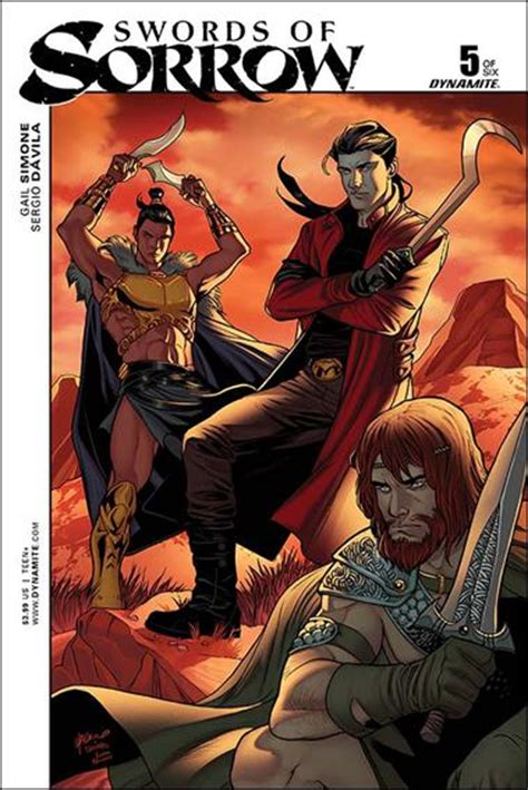 Swords Of Sorrow The Complete Saga swords of sorrow 5 b jan 2015 comic book by dynamite entertainment