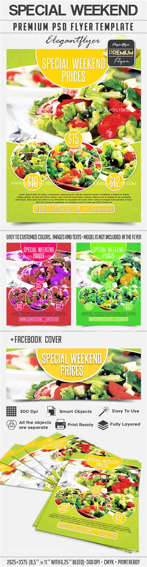 Special Weekend Offer Flyer Psd Template By Elegantflyer Specials Flyer Template