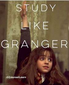 studying like hermione granger