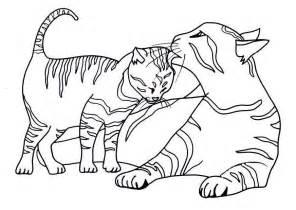 Black Cat Coloring Page  Printable Sheet Anbu sketch template