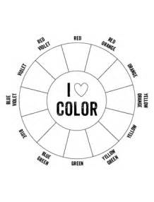 printable color wheel blank colour wheel template printable search results
