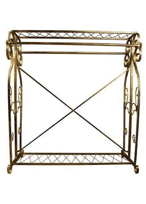 brand new free standing decorative antique bronze iron garment coat rack y009d