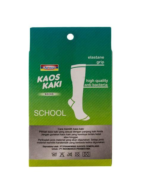 Gt Kaos Kaki Pria Ccs indomaret kaos kaki school smp sma anti bacteria box