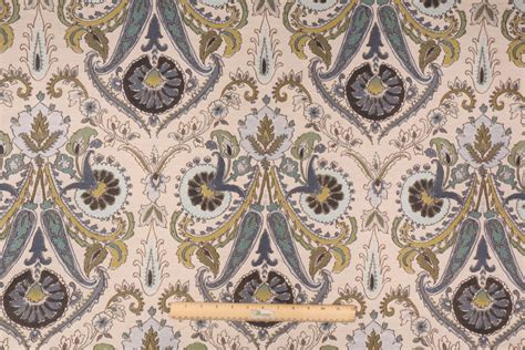 Decoupage Fabric - decoupage in caribbean tapestry woven upholstery fabric by tfa