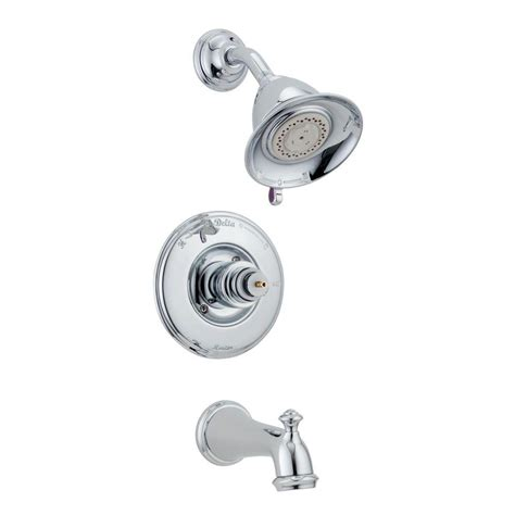 Delta 3 Handle Tub Shower Faucet by Delta 1 Handle 3 Spray Tub And Shower Faucet