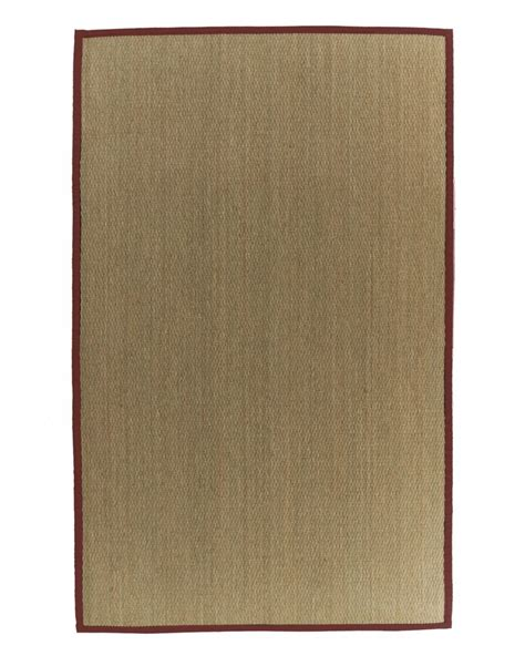bound area rugs lanart rug seagrass bound 61 4 ft x 6 ft area rug the home depot canada