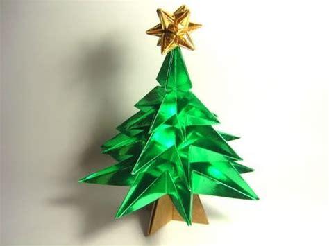 tutorial origami pohon natal heboh cara membuat pohon natal keren dari kertas doovi