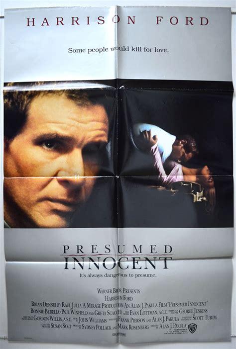 Presumed Cast by Presumed Original Cinema Poster From