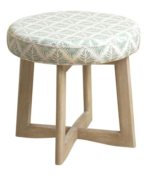 upholstered skirted round vanity chair 1000 ideas about upholstered stool on pinterest stools